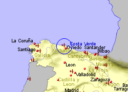 Map Of Spain Oviedo.Oviedo Airport Spain Who Flies There From Where