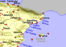 Map Of Spain Reus.Reus Airport Spain Who Flies There From Where