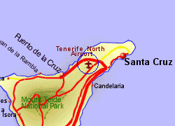 Tenerife north airport who flies there from where - Airport transfers tenerife south to puerto de la cruz ...