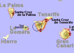 Map of the ACOJEJA area, normal view