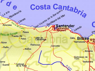 Cantabria Holiday Rentals BB Sales and Travel