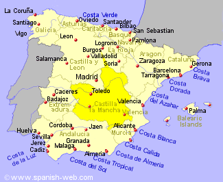 Castilla La Mancha Holiday REntals B and B Sales and Travel