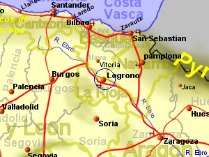 Logrono Climate and Weather, Rioja, Spain