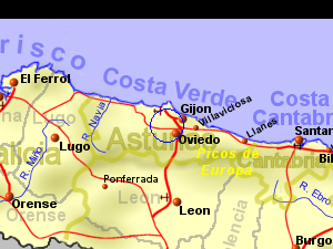 Oviedo Climate And Weather Costa Verde Spain