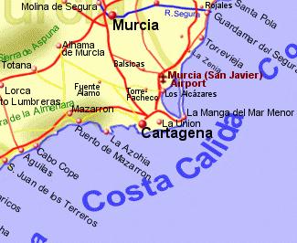 Costa Calida Rentals BB and Property Sales the Warm Coast