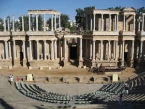 The Roman theatre at Merida