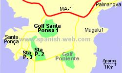 Golf Santa Ponsa Mallorca Spain