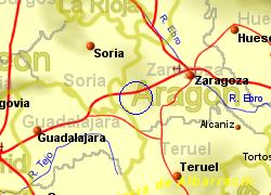 Calatayud Spain Map.Augusta Golf Calatayud Zaragoza Spain