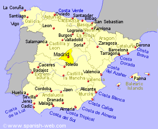 Golf Courses in Madrid Region Spain