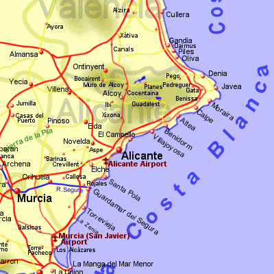Alicante province Holiday Rentals BB Sales and Travel