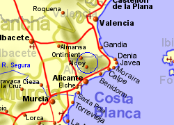Cocentaina spain property and local informtaion - Cocentaina espana ...