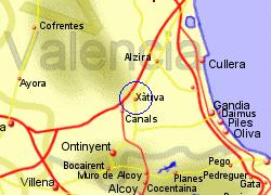 Map Of Xativa Spain.Map Of Xativa Spain Twitterleesclub